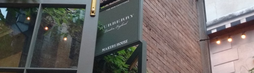 Studio 104 Explores Burberry's Makers House!