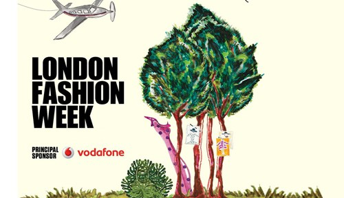 Studio 104 visits London Fashion Week
